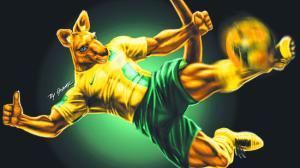 Socceroo's Mascot